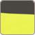 Hamak jednoosobowy H15, żółty
