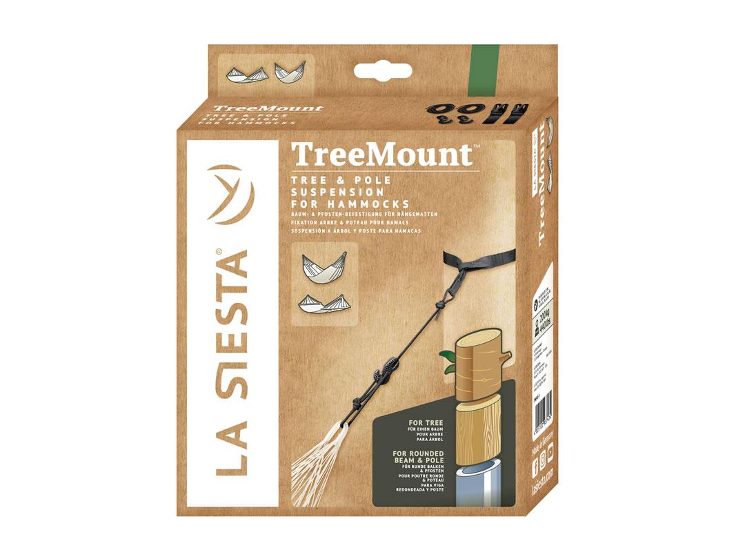 Zestaw mocujący do hamaka TreeMount Black