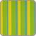 Zestaw hamakowy: fotel hamakowy Sonrisa z metalowym stojakiem Romano, zielono-żółty
