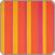 Zestaw hamakowy: hamak Sonrisa z białym stojakiem Nautico, pomarańczowy
